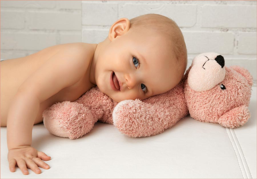 baby stuffed animal photos