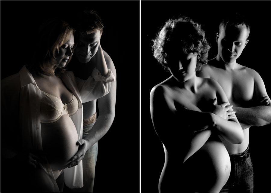 maternity studio portraits