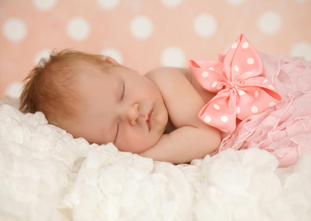newborn studio portraits