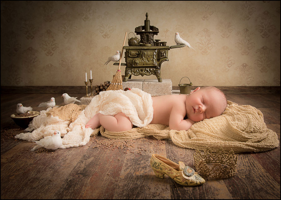 newborn fairy tales portraits