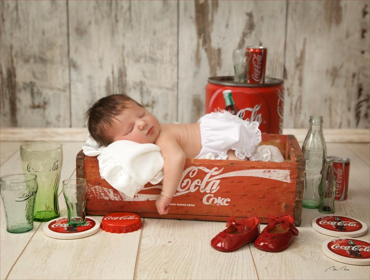 newborn photo session sarasota